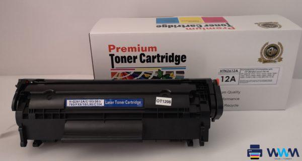 toner hp 12a canon fx-10