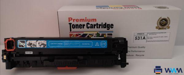 toner hp cc531 cyan