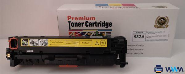 toner hp cc532 yellow