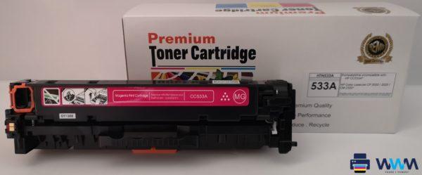 toner hp cc533 magenta