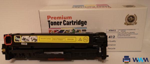 toner hp ce412 yellow