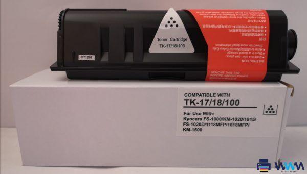 kyocera tk-17 tk-18 tk-100